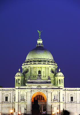 Victoria Memorial - Kolkata India - Royalty free stock photo, image
