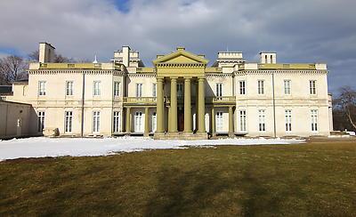 Dundurn Castle - Hamilton Canada - Royalty free stock photo, image