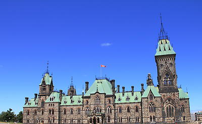 Canada Parliament Building - Ottawa - Royalty free stock photo, image