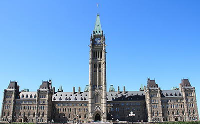 Canada Parliament Building - Royalty free stock photo, image