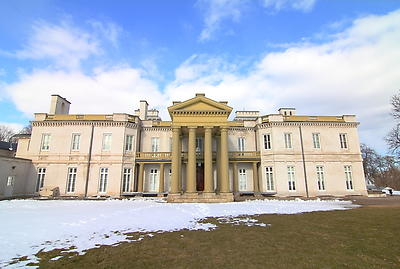 Dundurn Castle - Hamiltion Canada - Royalty free stock photo, image