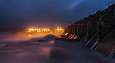 Panchet Dam - Royalty free stock photo, image