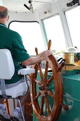 Cruise ship captain - Royalty free stock photo, image