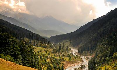 Pahelgam - Royalty free stock photo, image