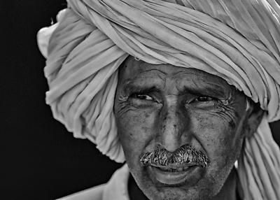 Portrait of Old Man - Royalty free stock photo, image