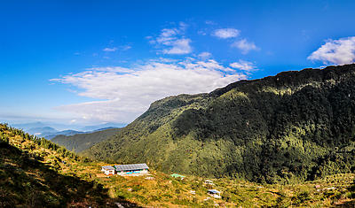 Angel Home Stay Zuluk, East Sikkim - Royalty free stock photo, image