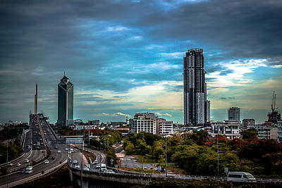 BANGKOK CITY - Royalty free stock photo, image