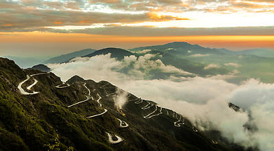 old silk route - Royalty free stock photo, image