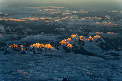 Greater Himalaya - Royalty free stock photo, image