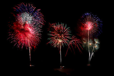 Fireworks - Royalty free stock photo, image