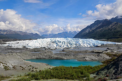 Glacier - Royalty free stock photo, image