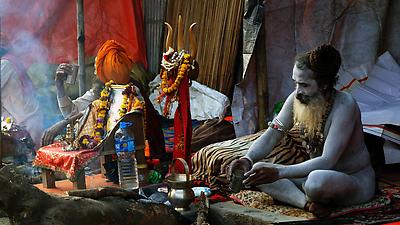 Sadhu - Royalty free stock photo, image