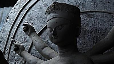 Durga idol - Royalty free stock photo, image