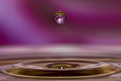water droplet magic 2 - Royalty free stock photo, image