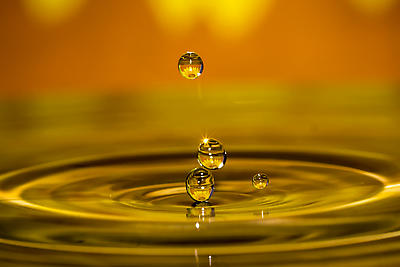 water droplet magic 4 - Royalty free stock photo, image
