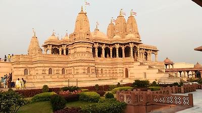Swami Narayan Temple - Royalty free stock photo, image