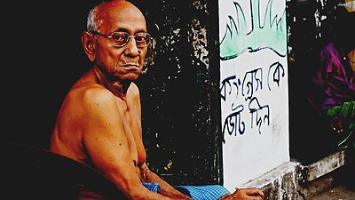 Streets of Kolkata - Royalty free stock photo, image