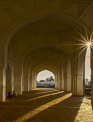 sunrise at mosque - Royalty free stock photo, image