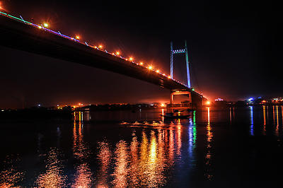 Princep Ghat Kolkata - Royalty free stock photo, image