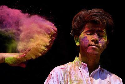 Colour Brust  - Royalty free stock photo, image