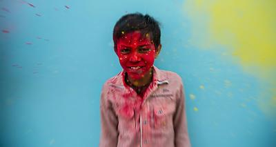 holi hai  - Royalty free stock photo, image