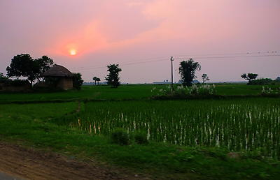 BK1- West Bengal village - Royalty free stock photo, image