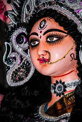 Durga - Royalty free stock photo, image