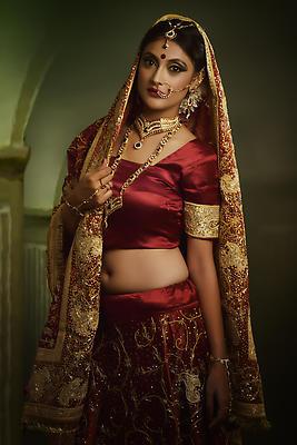 Bridal Portrait - Royalty free stock photo, image