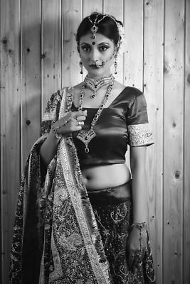 Bridal Portrait - Royalty free stock photo, image