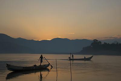 Morning bliss, Pappi Hills, Rajamundhry , Hyderabad - Royalty free stock photo, image
