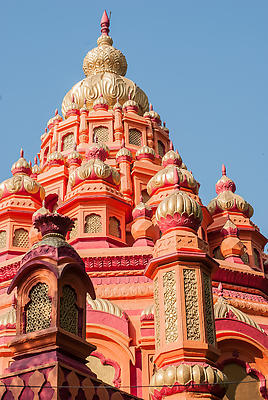 Top of temple at parvati pune - Royalty free stock photo, image