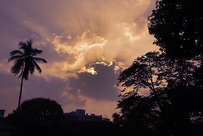 Sunset - Royalty free stock photo, image