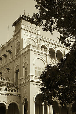 Aga Khan Palace - Royalty free stock photo, image