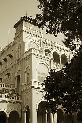 Aga Khan Palace - Royalty free stock photo, image