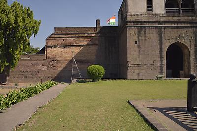 Ruins of Shaniwarwada - Royalty free stock photo, image