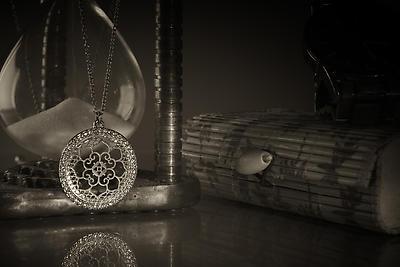 Classic retro jewelry fashion - Royalty free stock photo, image
