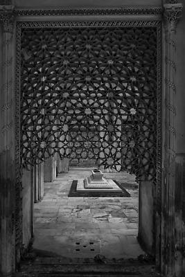 Paigah Tomb - Royalty free stock photo, image