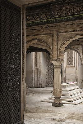 Paigah tomb at Hyderabad - Royalty free stock photo, image