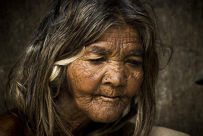 old Women - Royalty free stock photo, image