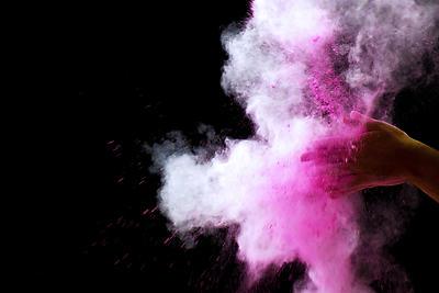 Colour Splash - Royalty free stock photo, image