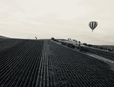 Hot Air Balloon - Royalty free stock photo, image