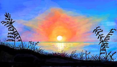 Early Sunrise  - Royalty free stock photo, image