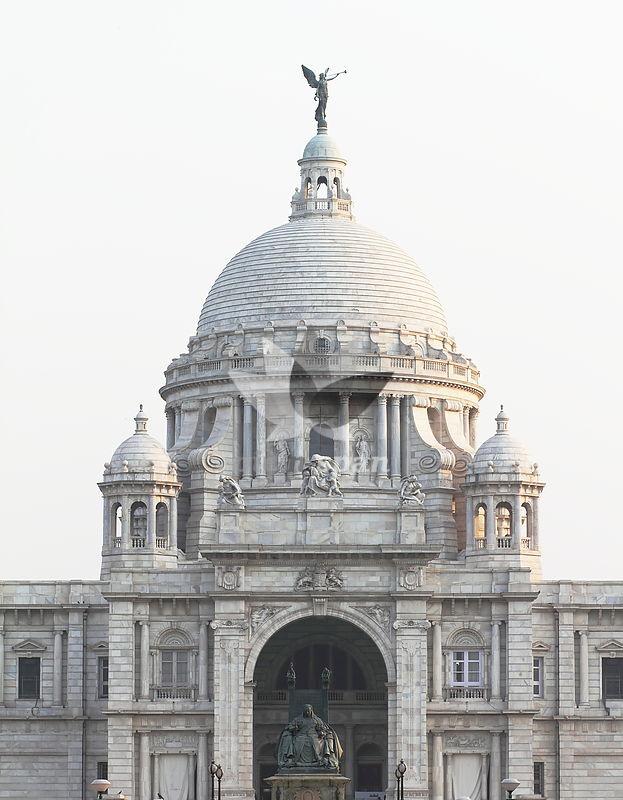 Victoria Memorial - Kolkata India - Royalty free stock photo, image