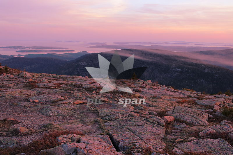 Acadia National Park - Royalty free stock photo, image