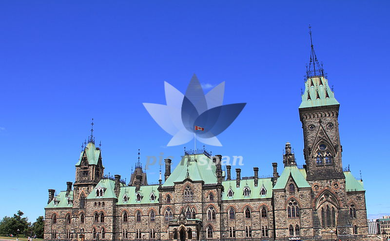 Canada Parliament Building - Ottawa - Royalty free stock photo, image