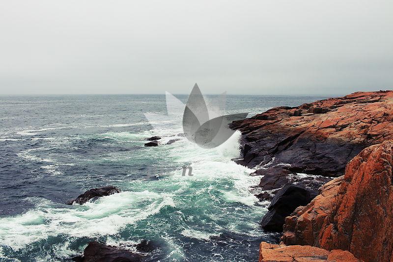 Waves - Royalty free stock photo, image