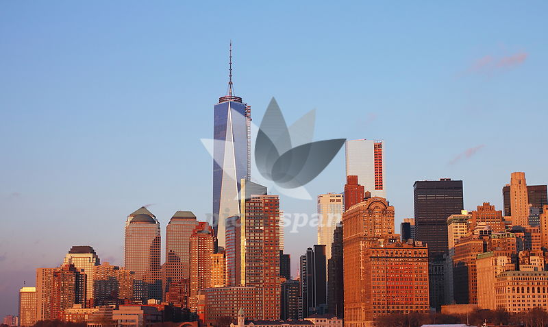 Manhattan Skyline - Royalty free stock photo, image