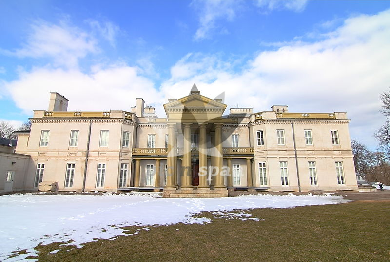Dundurn Castle - Hamiltion Canada - Royalty free stock photo, image