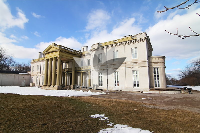 Dundurn Castle - Hamilton Canada - Royalty free stock photo, image