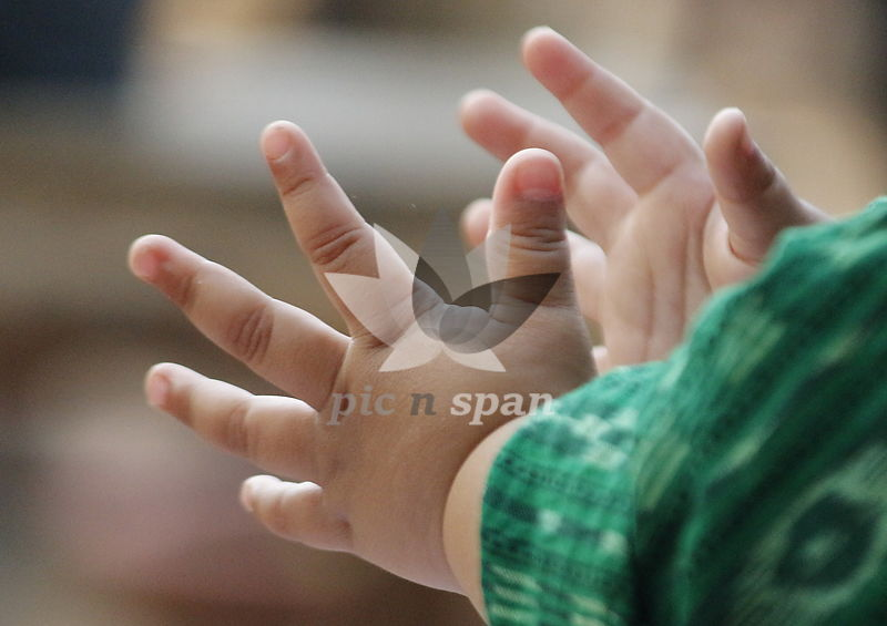 HAND OF LOVE - Royalty free stock photo, image